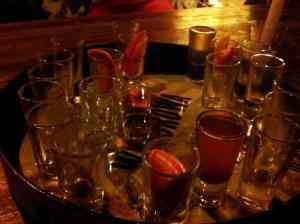 Polnische Wodkaauswahl