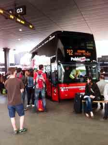 Einstieg Polski Bus