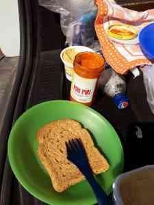 Essensvorrat beim Islandroadtrip