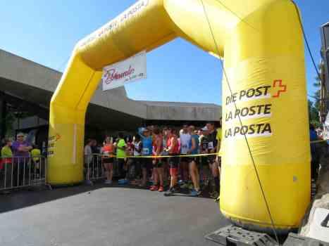Startfeld Aletsch Halbmarathon 2015
