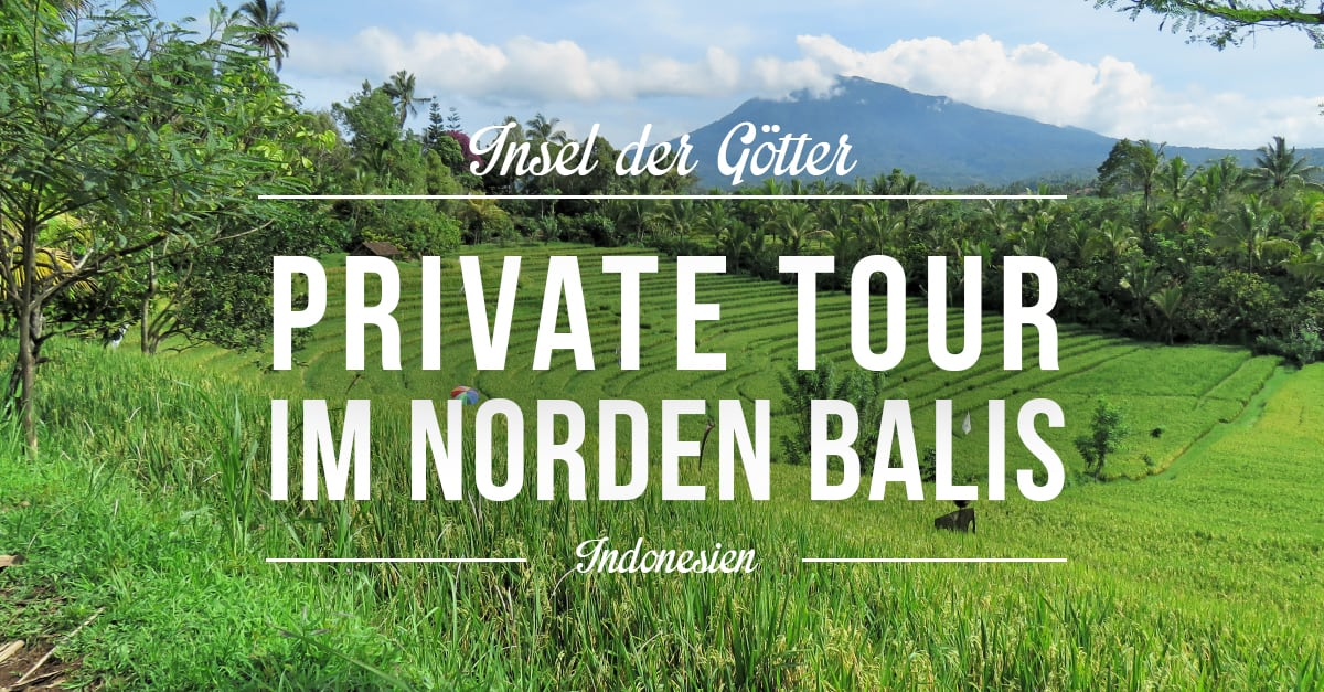 Tagesauflug im Norden Balis