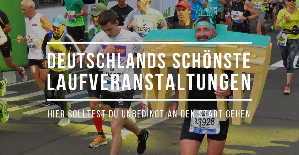Deutschlands schönste Laufevents