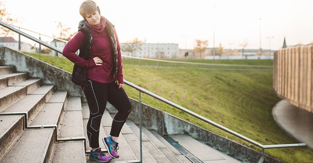 Probleme beim Laufen: Seitenstechen