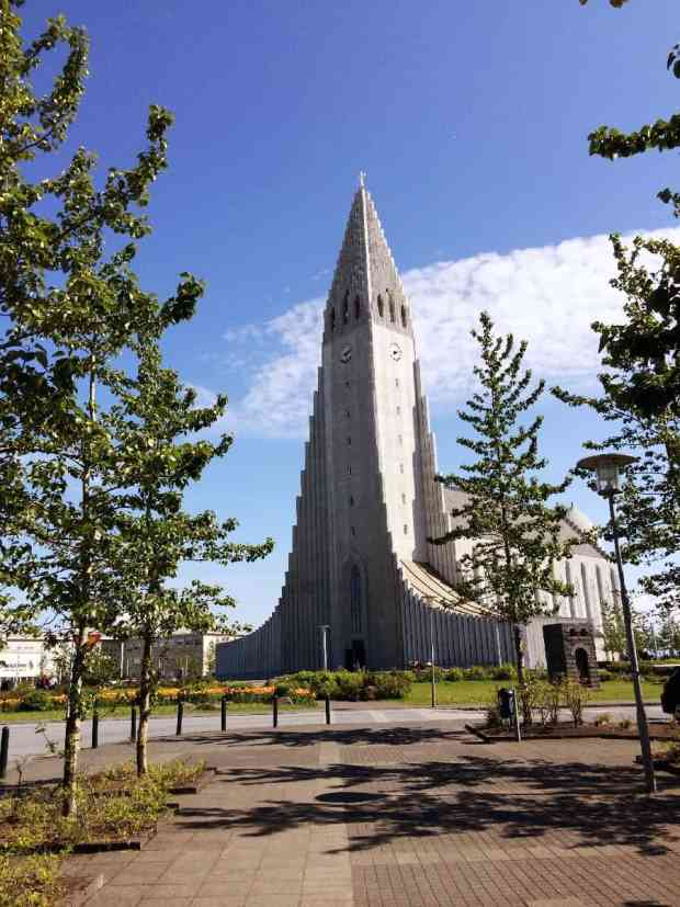 Hallgrimskirkan Reykajvik