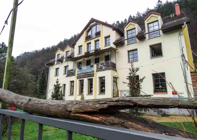 Übernachten im Bio-Hotel Helvetia in Schmilka
