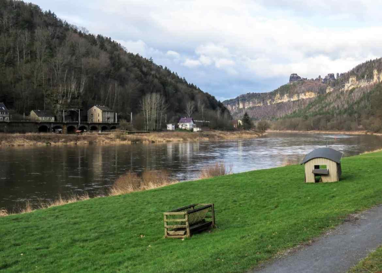 Urlaub in der Sächsischen Schweiz in Schmilka