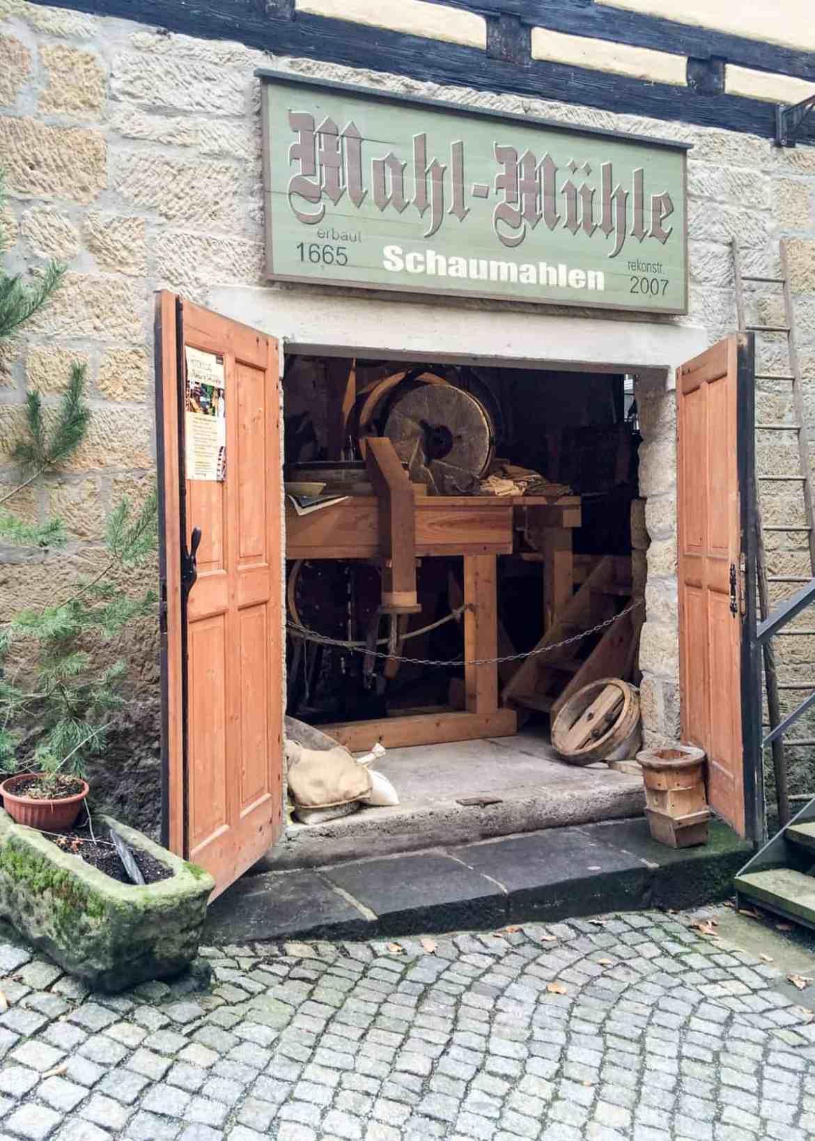 Mahl-Mühle Schmilka