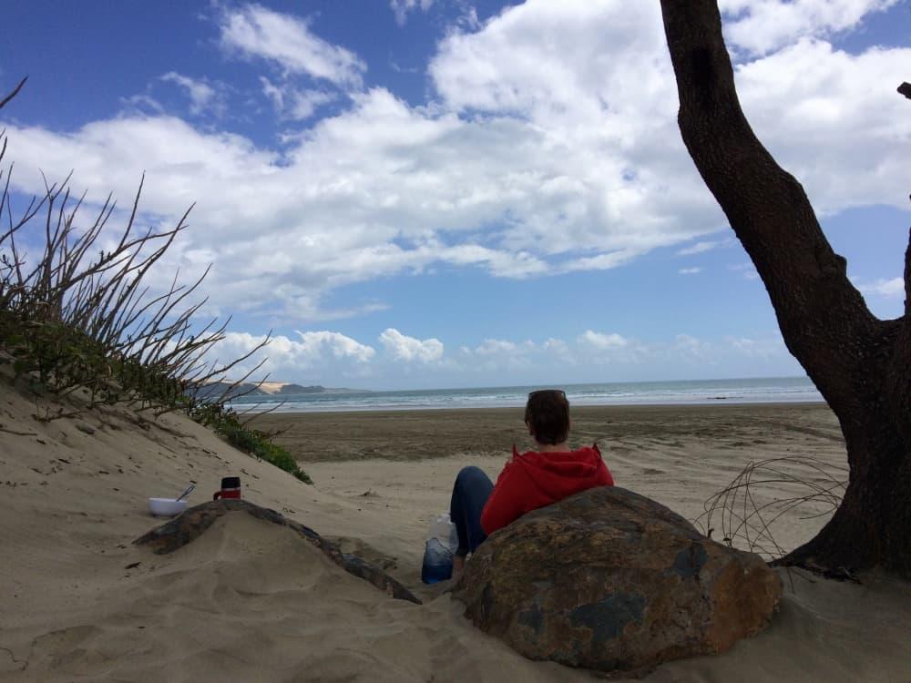 neuseeland-northland-ninety-mile-beach-lunch