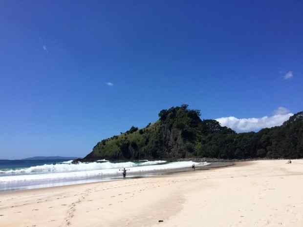 rundreise-neuseeland-coromandel-new-chums-beach-2