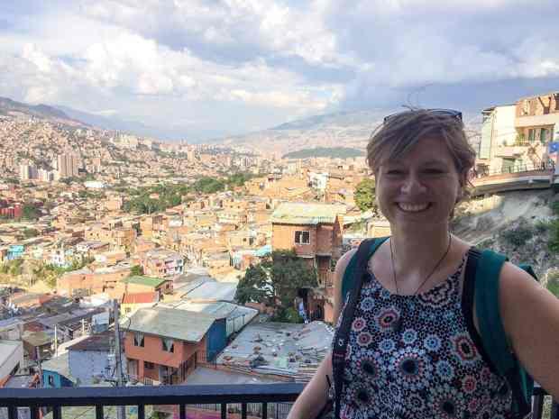 Ausblick über Medellín