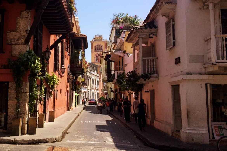 Straßenzug Cartagena