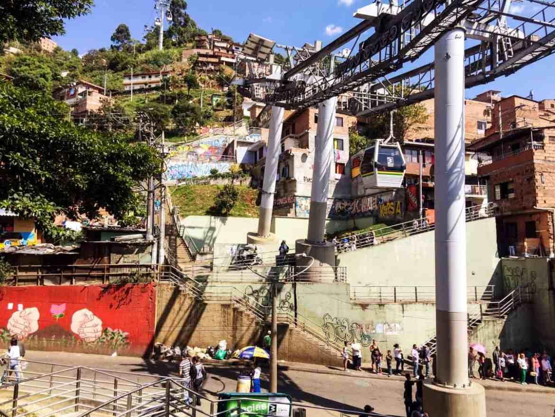 Seilbahn in Medellín