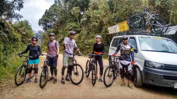 Mountainbike Tour bei Medellín