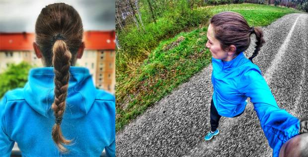 Sommerlauffrisur: Sus von Runskills trägt am liebsten einen geflochtenen Zopf beim Laufen