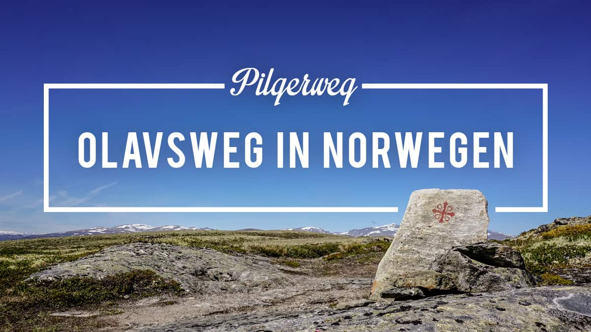 Wandern auf dem Olavsweg in Norwegen