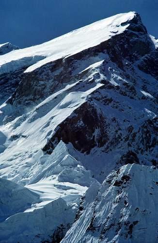 Annapurna (8091 m), spedizione italiana 1973, versante NW e sperone NW