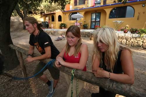 Biasì 2009 , Sardegna, 07.2009, Milo, Cleo, Suzy