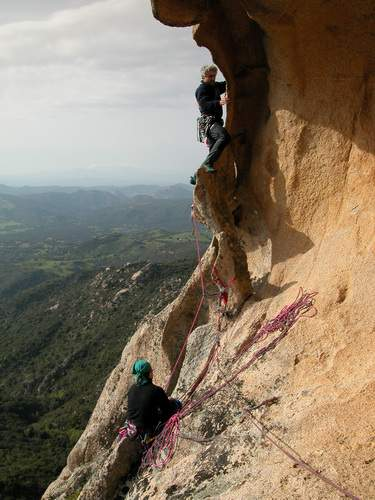 2004.04 Banditi tentativo 5a lunghezza 15 , Sardegna
