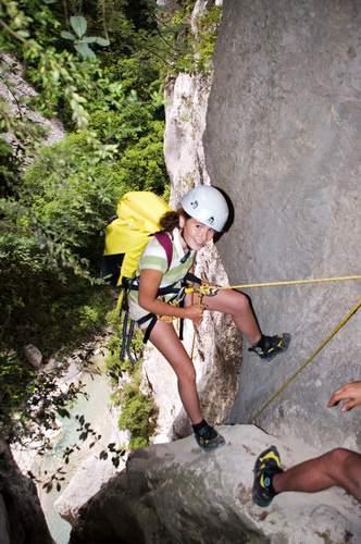 Gorges du Verdon (Provenza),  discesa Ferné (canyoning)
