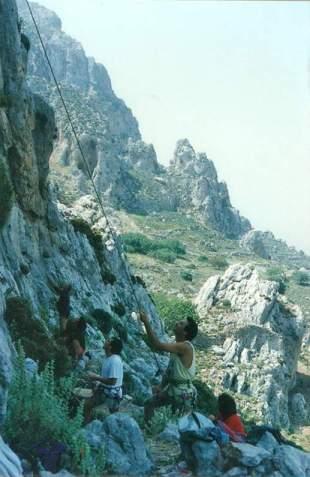 DiBari-Maggio 1996 Kalimnos Allievi ad odissey X