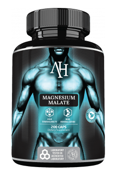 Recommended magnesium supplement in its most effective malate form - Magnesium Malate from Apollo Hegemony
