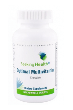 The best (or rather optimal!) choice of Multivitamin and mineral preparation is Optimal Multivitamin from Seeking Health