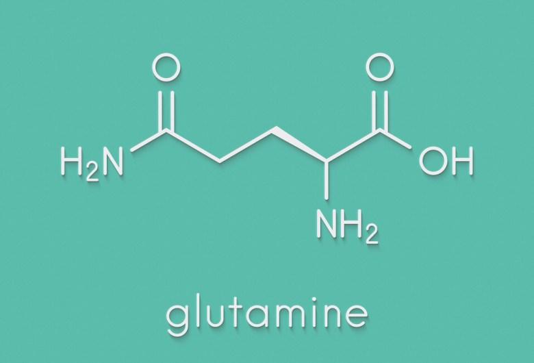 Glutamine - chemical formula