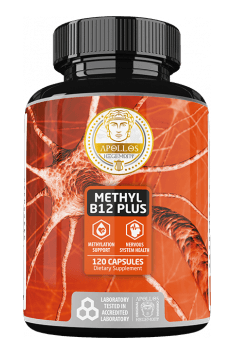 Recommended supplement containing active form of Vitamin B12 - Methyl B12 Plus from Apollo Hegemony