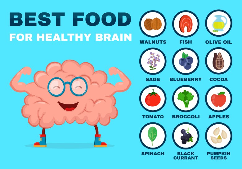 What to eat to improve your brain functions