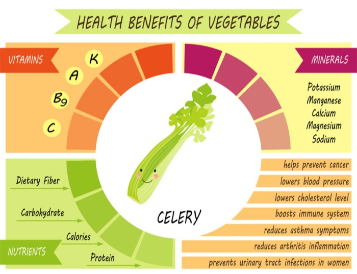 Most important benefits of celery