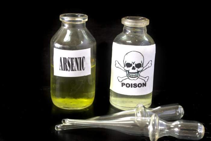 Yes, we mean this arsenic which acts also as toxin