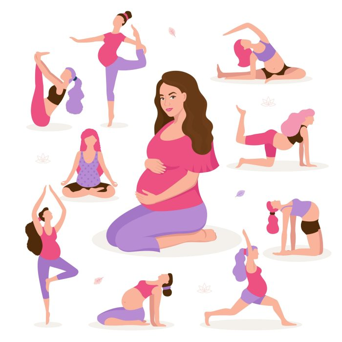 Yoga is great type of physical activity recommended during and after pregnancy