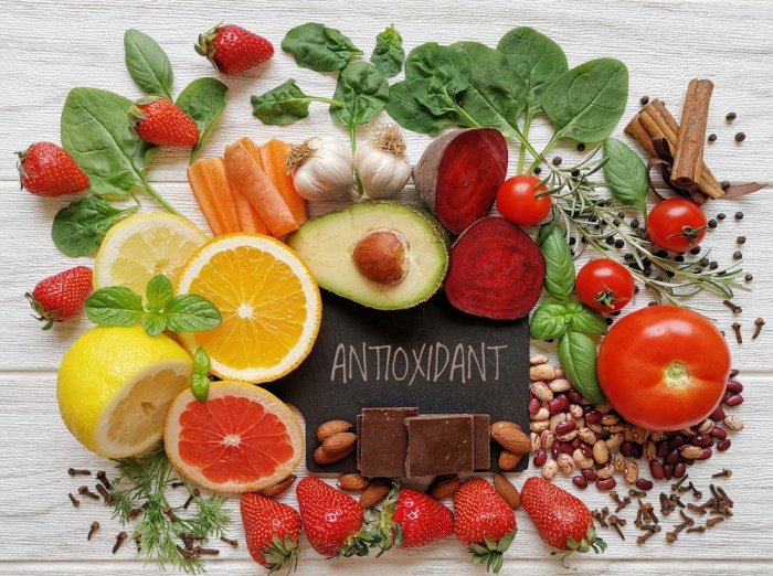 Antioxidative substances are the basis in the improving state of circulatory system