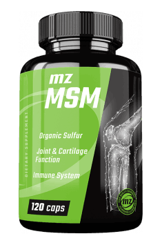 Recommended MSM supplement - MZ Store MSM