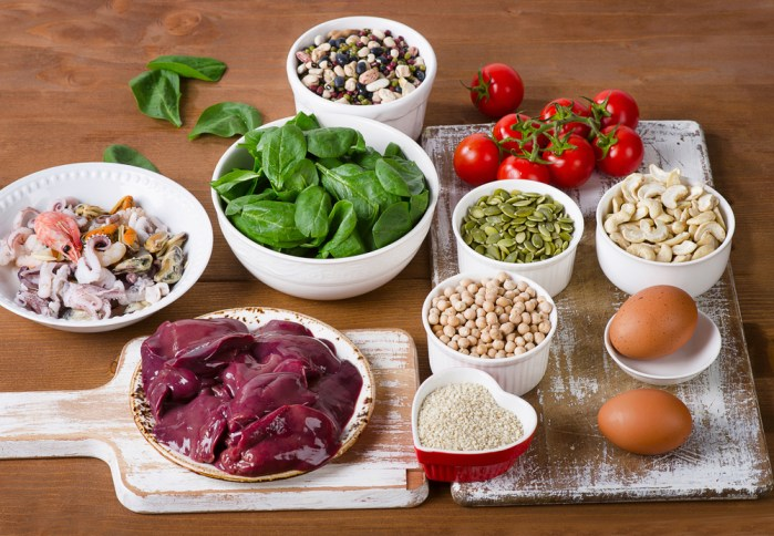 Best dietary sources of iron