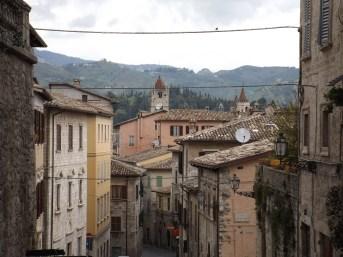 Street in Ascoli