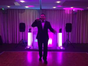 Evening Wedding DJ & Host.