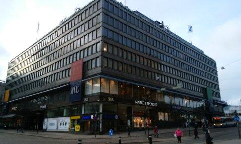 ヘルシンキ中央駅に近いソコスは免税店