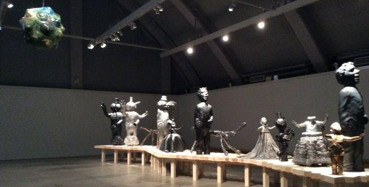 ペッカ・カウハネンの彫刻展その2