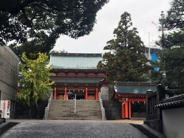 Gosha suwa shrine distant