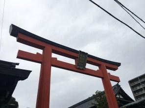 gosha suwa shrine torii