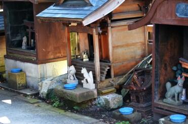 Small Inari shrines