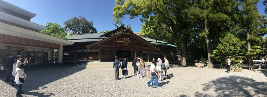 Sarutahiko Shrine Panorama