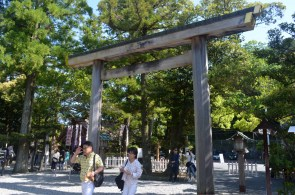 Sarutahiko Shrine Torii