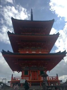 Kiyomizudera Pagoda