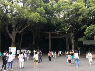 Enterance to the shrine