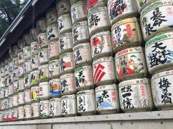 Sake donations