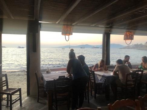 Joannas nokos place. Taverna Fronte mare.
