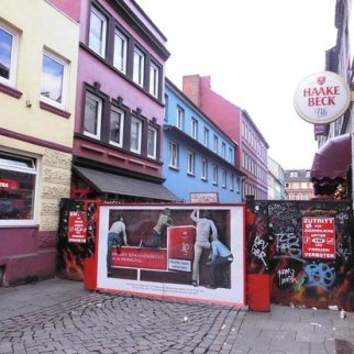 St Pauli vicolo a luci rosse