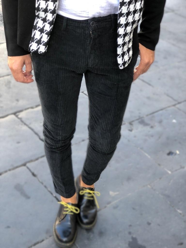 Paul Miranda - pantaloni neri in velluto